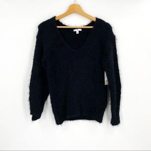 NEW BP Fuzzy Cropped Sweater sz XS